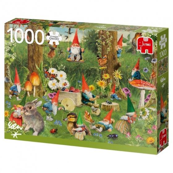 Jumbo legpuzzel Gnomes at the Forest Edge 1000 stukjes