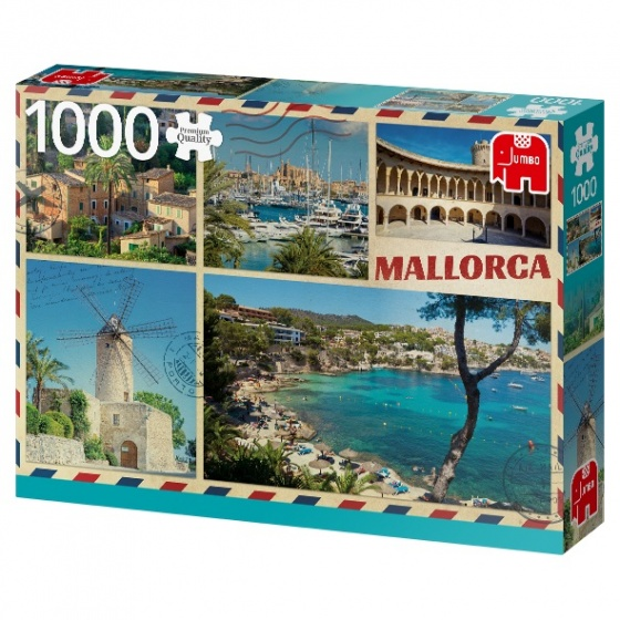 Jumbo legpuzzel Greetings from Mallorca 1000 stukjes