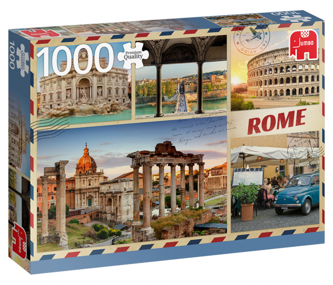 Jumbo legpuzzel Greetings from Rome 1000 stukjes