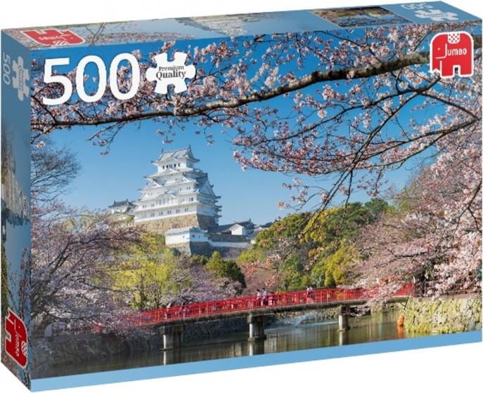 Jumbo legpuzzel Hemeji Castle, Japan 500 stukjes