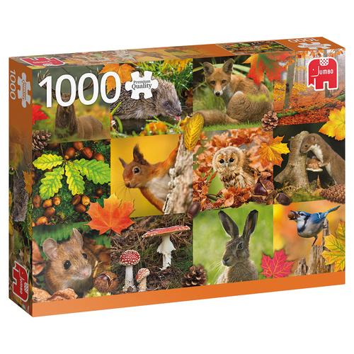 Jumbo legpuzzel Herfst 1000 stukjes
