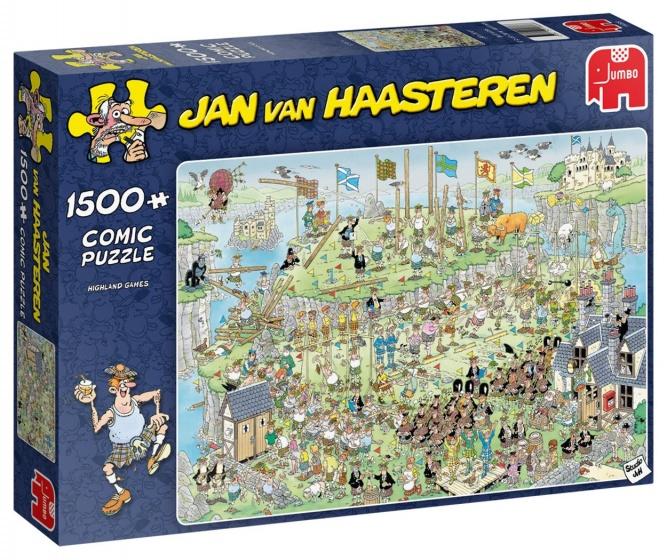 Jan van Haasteren Highland games puzzel