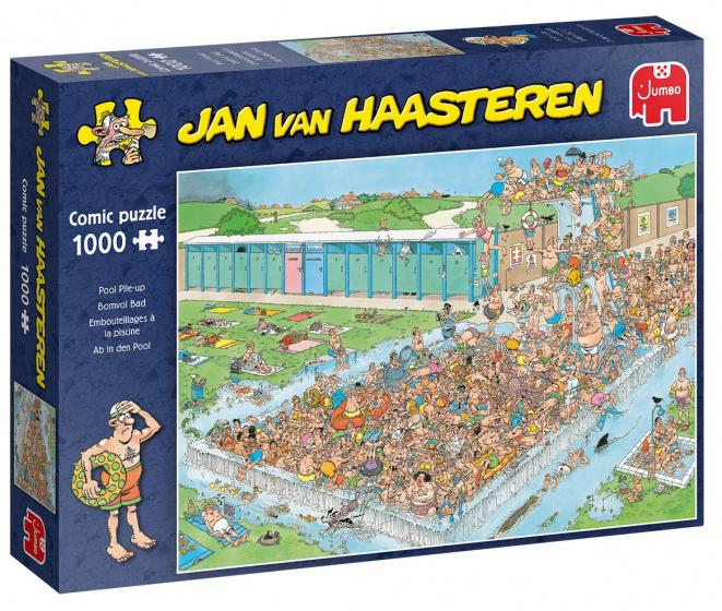 Jumbo JvH puzzel Bomvol bad 1000pcs