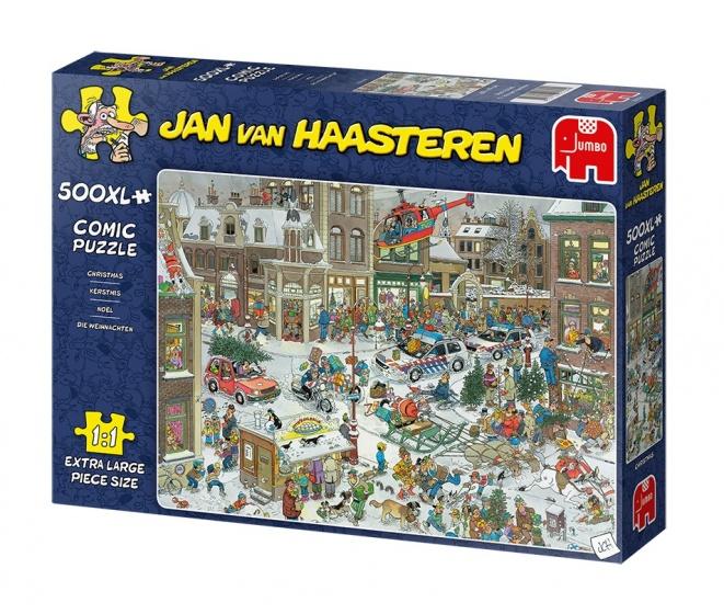 Jumbo legpuzzel Jan van Haasteren Christmas 500XL stukjes