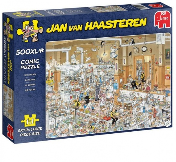Jan van Haasteren De keuken XL puzzel