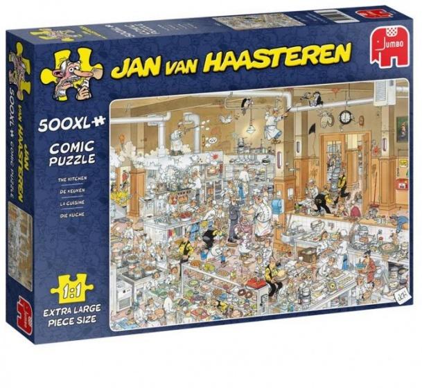 Jumbo legpuzzel jan van Haasteren De keuken 500 stukjes (XL)