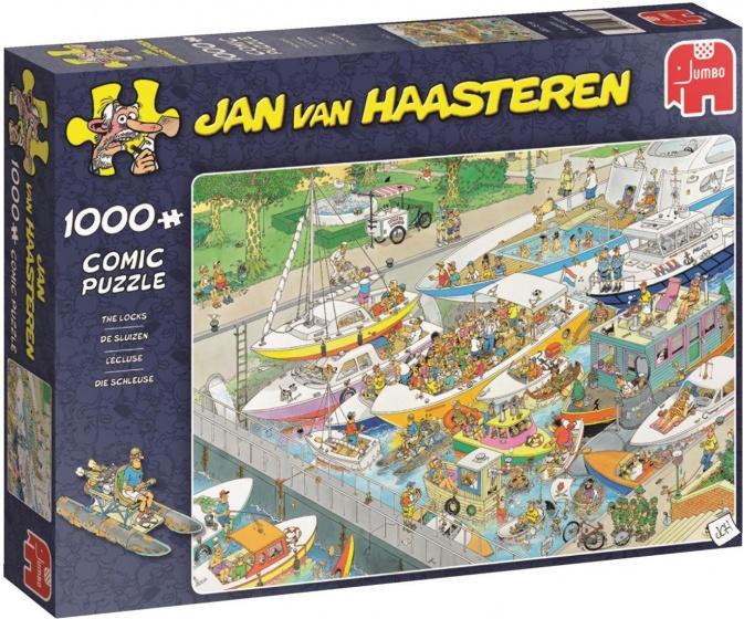 Jan van Haasteren The Locks 1000 pcs 1000stuk(s)