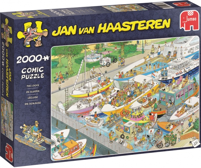 Jan van Haasteren The Locks 2000 pcs 2000stuk(s)