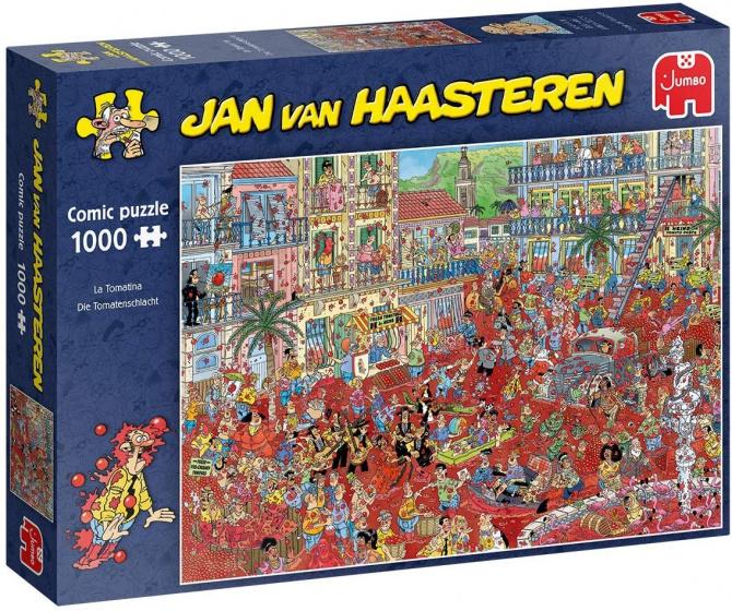 Jan Van Haasteren La Tomatina 1000 Stukjes