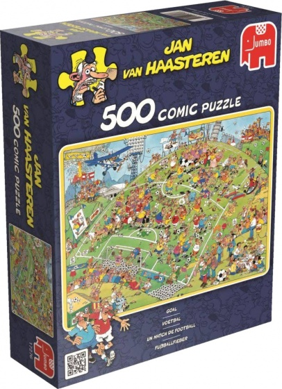 Jumbo legpuzzel Jan van Haasteren Football 500 stukjes