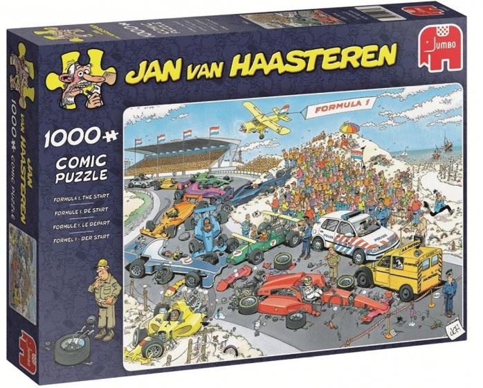 Jan van Haasteren Formule 1, de start puzzel