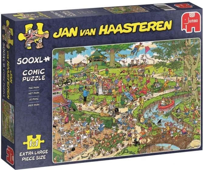 Jumbo legpuzzel Jan van Haasteren Het Park 500 XL stukjes