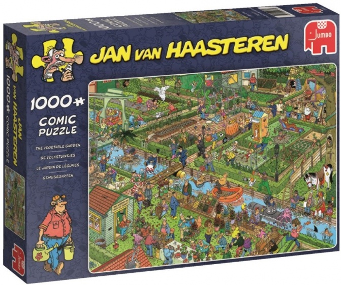 Jumbo legpuzzel Jan van Haasteren Volkstuintjes 1000 stukjes