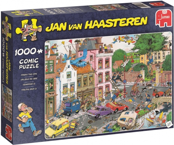 Jan van Haasteren Friday the 13th 1000 pcs 1000stuk(s)