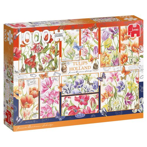 Jumbo legpuzzel Janneke Brinkman: Nederlandse tulpen 1000 stukjes