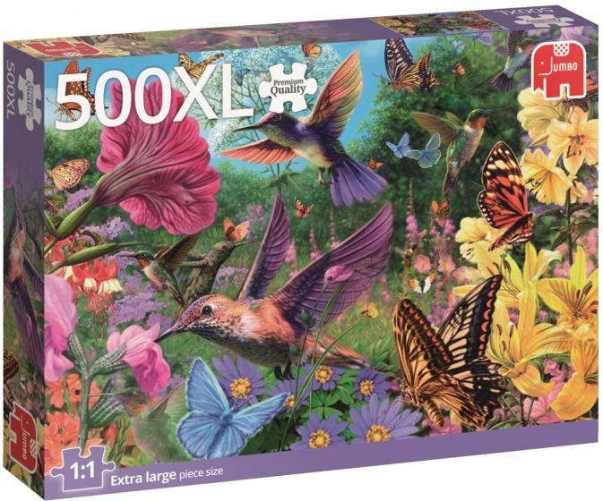 Jumbo legpuzzel Kolibrie 500 stukjes XL