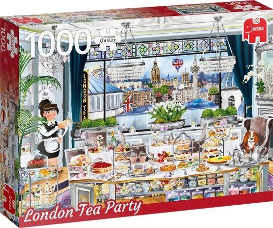 Jumbo legpuzzel London Tea Party 1000 stukjes