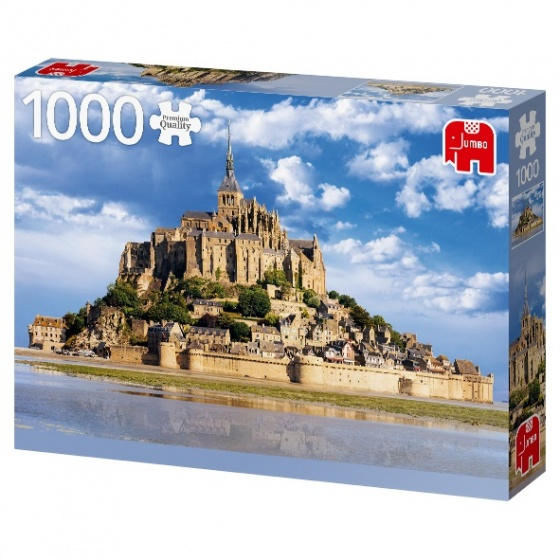 Jumbo legpuzzel Mont Saint Michel 1000 stukjes
