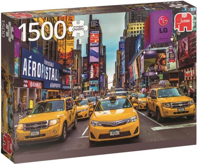Jumbo legpuzzel New York Taxi 1500 stukjes