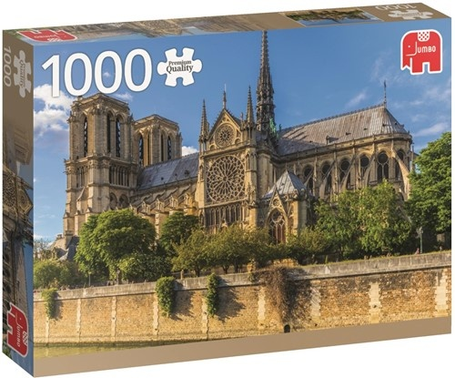 Jumbo legpuzzel Notre Dame 1000 stukjes