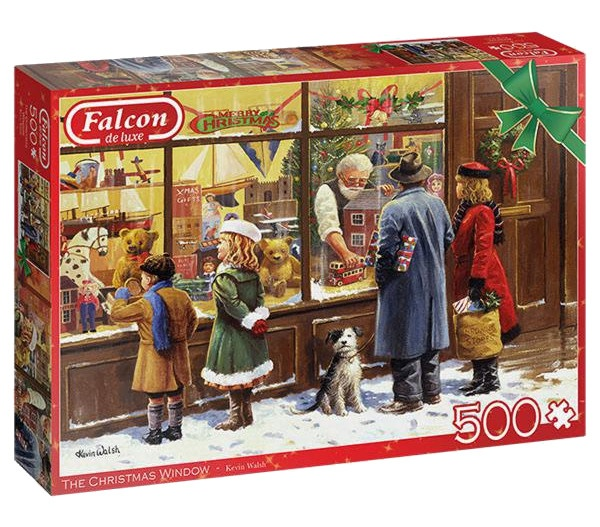 Jumbo legpuzzel The Christmas Window 500 stukjes