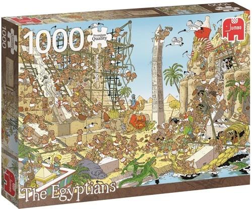 Jumbo legpuzzel The Egyptians 1000 stukjes