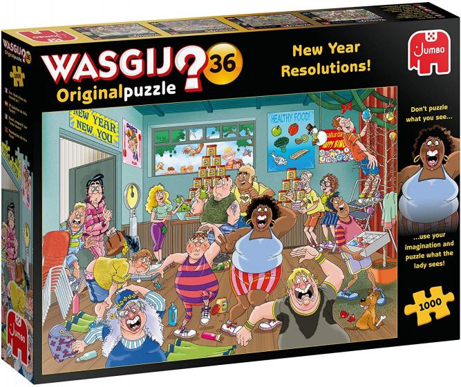 Wasgij Original 36 Goede voornemens!