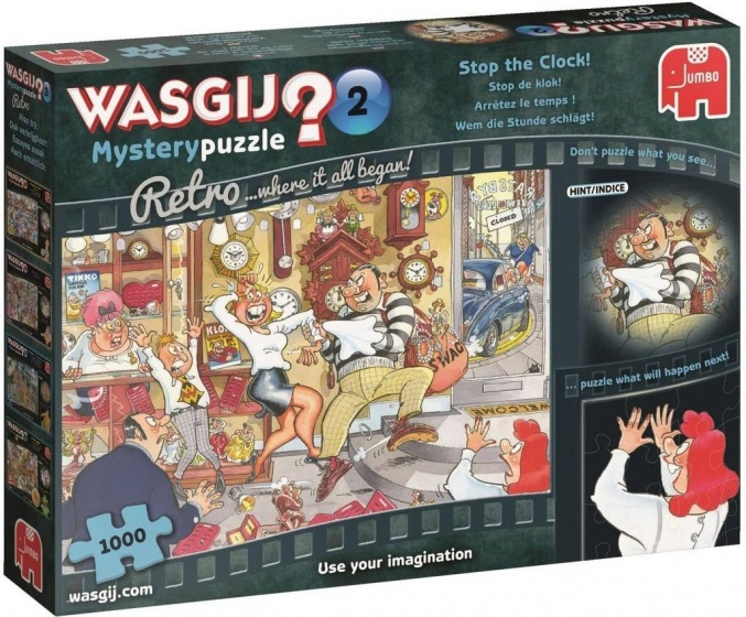 Wasgij Retro Mystery 2 The proposal 1000 pcs 1000stuk(s)
