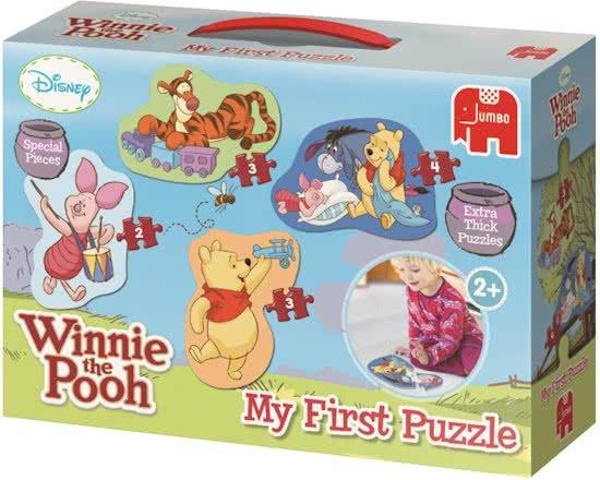 Jumbo legpuzzel Winnie the Pooh 12 delig