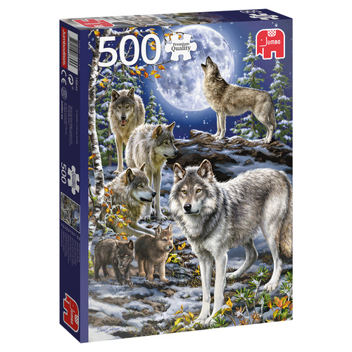 Jumbo legpuzzel wolvenroedel 500 stukjes