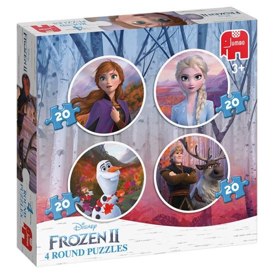 Jumbo legpuzzels Disney Frozen 2 20 stukjes 4 delig