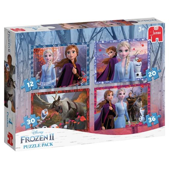 Jumbo legpuzzels Disney Frozen 2 4 delig
