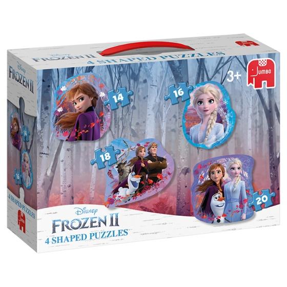 Jumbo legpuzzels Disney Frozen 2 gevormd 4 delig