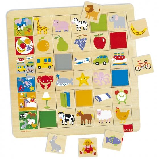 Jumbo maak de rij af memorypuzzel zoek de plaatjes die bij de afbeelding van de rij horen. kinderen leren zo ...