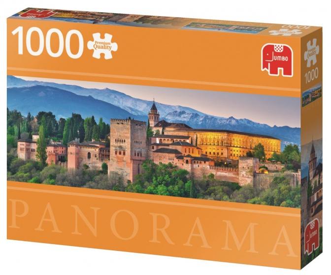 Alhambra Spain Premium Quality - Puzzel 1000 stukjes