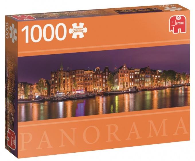 Jumbo Amsterdam Skyline 1000 stukjes Panorama
