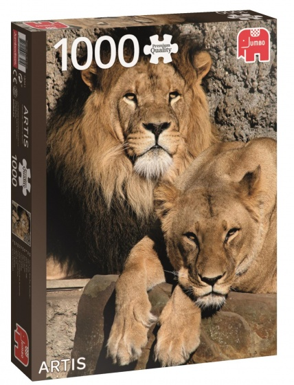 Jumbo PC Artis Lions legpuzzel 1000 stukjes
