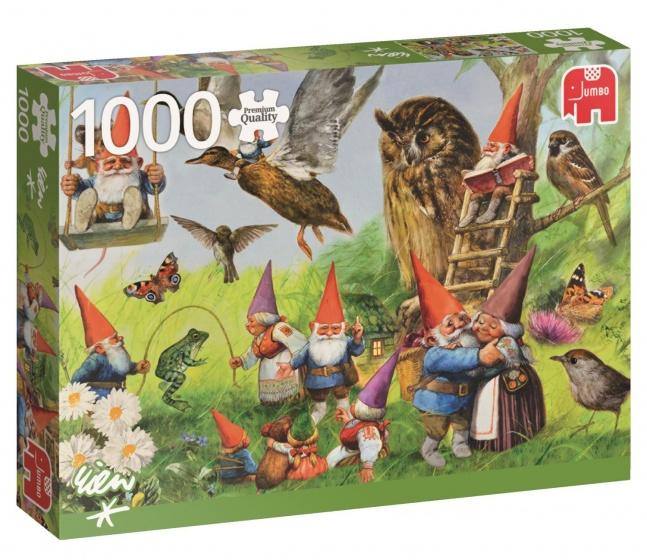 Puzzel Rien Poortvliet Bij De Kabouters Thuis 1000 Stuks