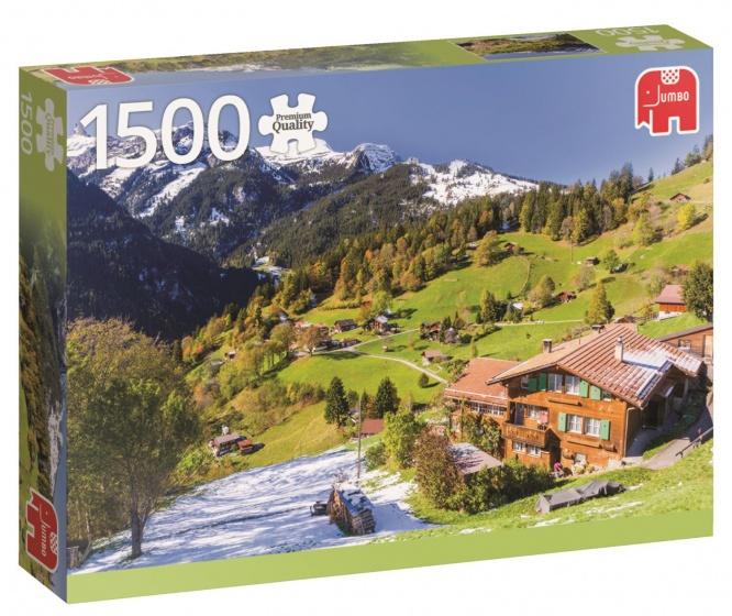 Berner Oberland Switserland Puzzel 1500 stukjes