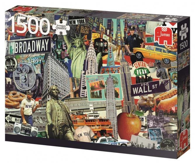 Best of New York Puzzel - 1500 stukjes