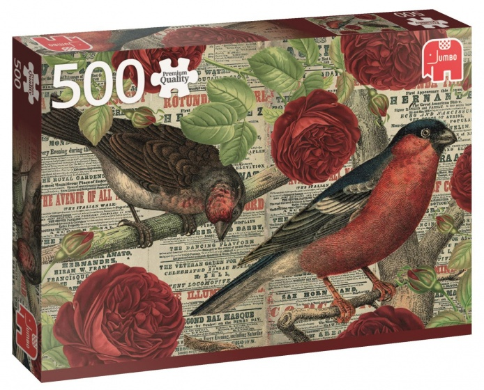 Jumbo PC Birds Love Flowers legpuzzel 500 stukjes