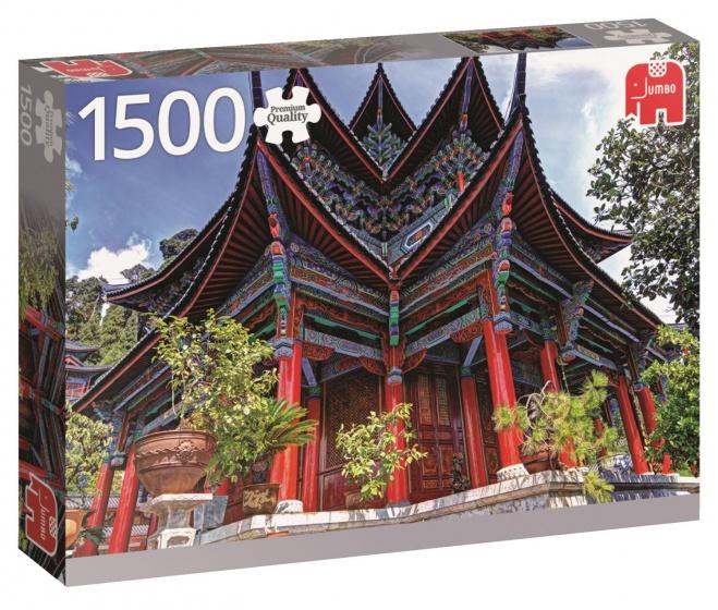 Jumbo PC Chinese Temple legpuzzel 1500 stukjes