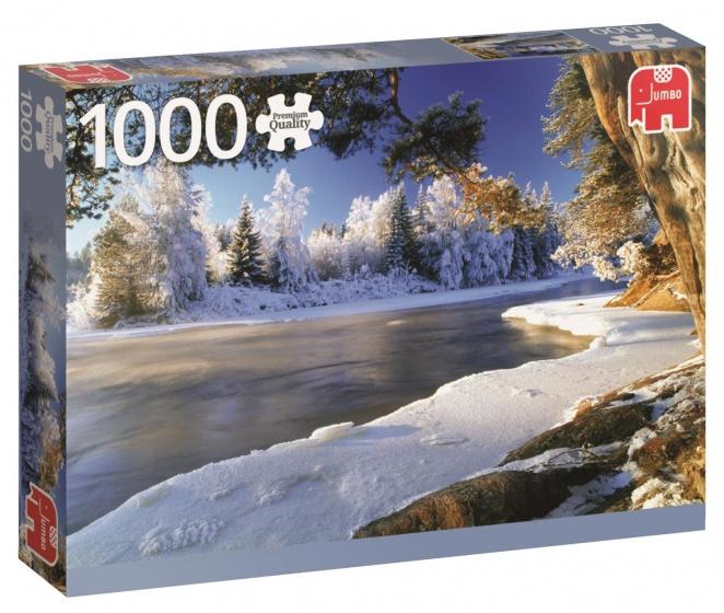 Dal River, Sweden Puzzel 1000 Stukjes