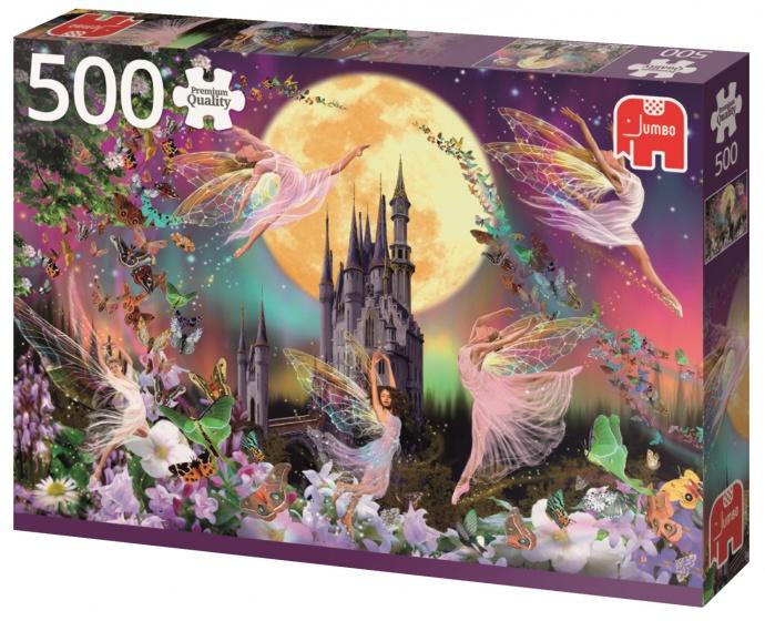 Jumbo PC Dancing Fairies legpuzzel 500 stukjes
