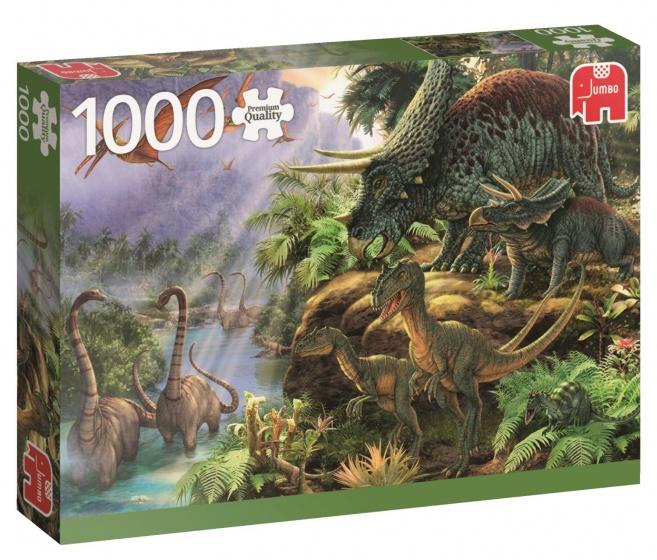 Jumbo PC Dinosaur Valley legpuzzel 1000 stukjes