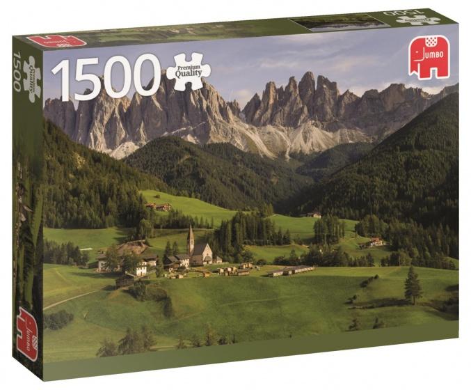 Jumbo PC Dolemites Italy legpuzzel 1500 stukjes