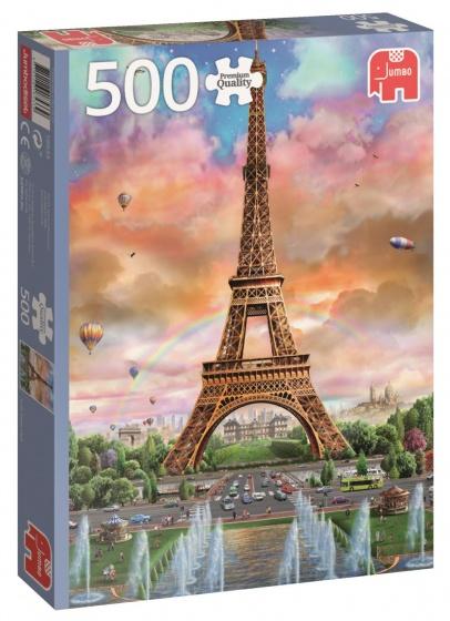 Jumbo pc eiffeltoren parijs legpuzzel 500 stukjes internet toys - Parijs zoet ...