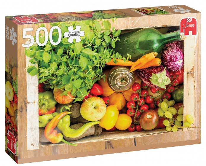 Jumbo PC Fruit And Vegetable Box legpuzzel 500 stukjes