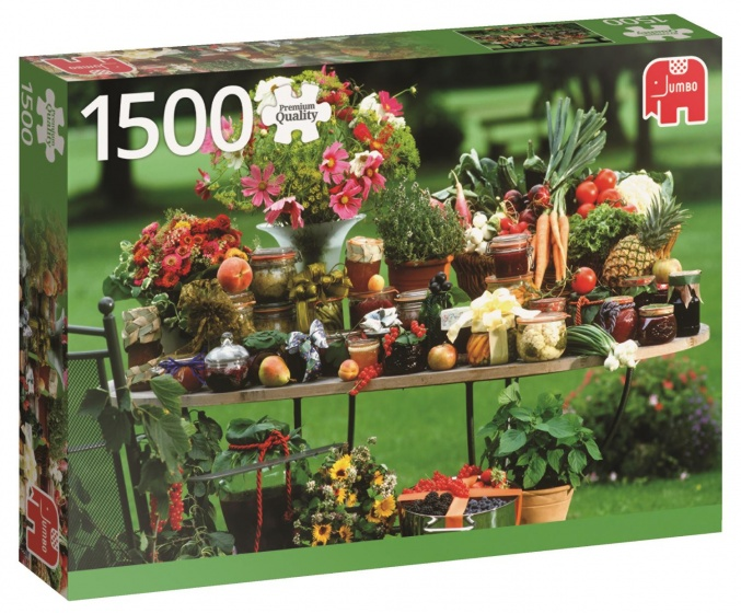 Jumbo PC Fruit And Vegetable legpuzzel 1500 stukjes