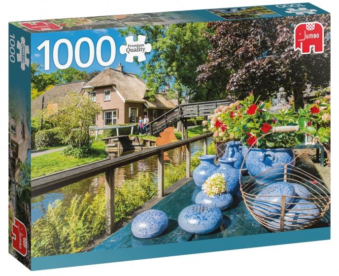 Jumbo PC Giethoorn the Netherlands legpuzzel 1000 stokjes